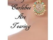 ear lobes tear