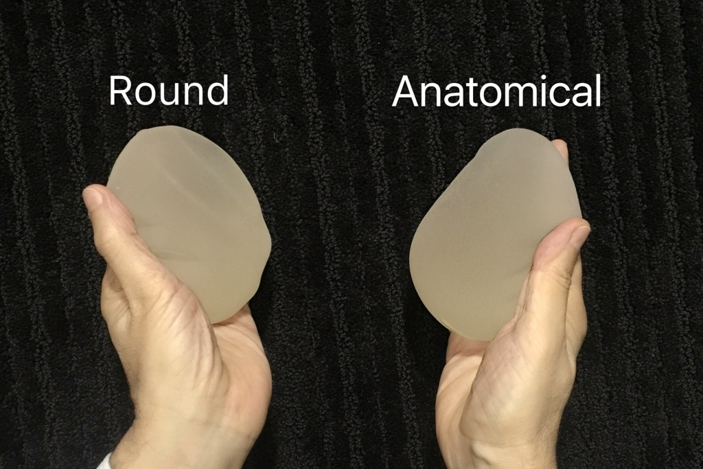 Round vs Anatomical Implants
