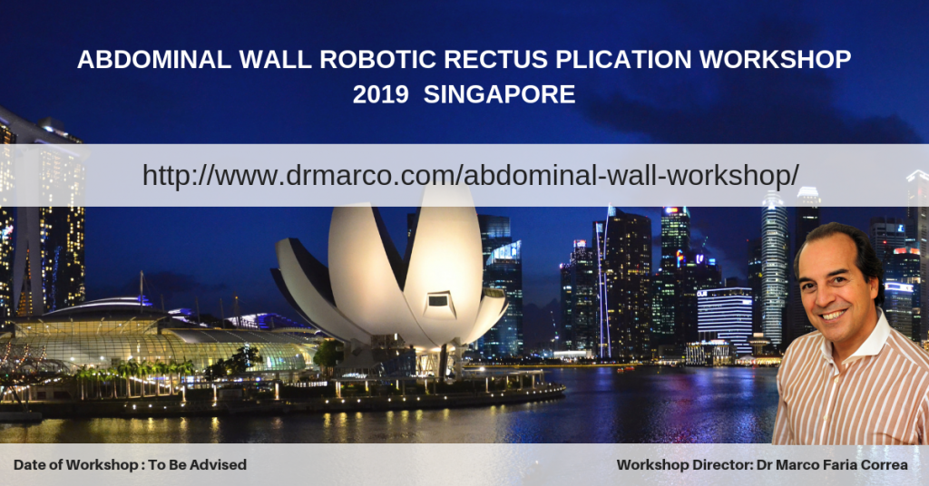 ABDOMINAL WALL ROBOTIC SURGERY WORKSHOP 2019